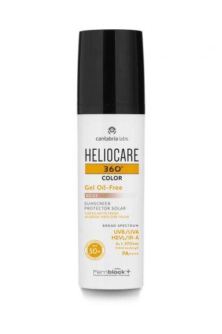 Heliocare 360º Gel oil free BEIGE + ampollas