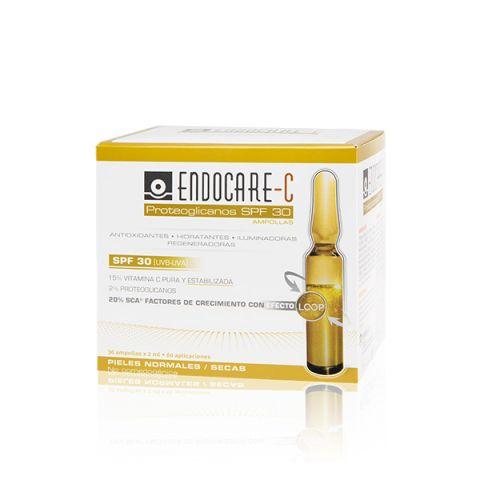 Endocare-C proteoglicanos SPF30 30ampollas*2ml