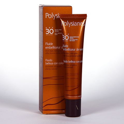 Polysianes Fluido con Color 30SPF 40ML