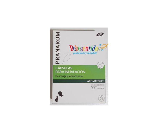 Pranarom Aromaforce capsulas inhalacion 15cap