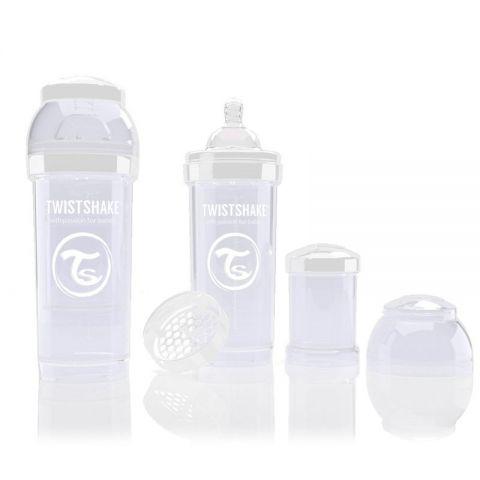 Twistshake Biberon Blanco 260 ml