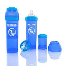 Twistshake Biberon Azul 330ml